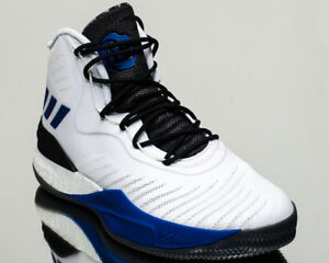 the latest 2c6c3 e3a19 Image is loading adidas-D-Rose-8-men-basketball-shoes-white-