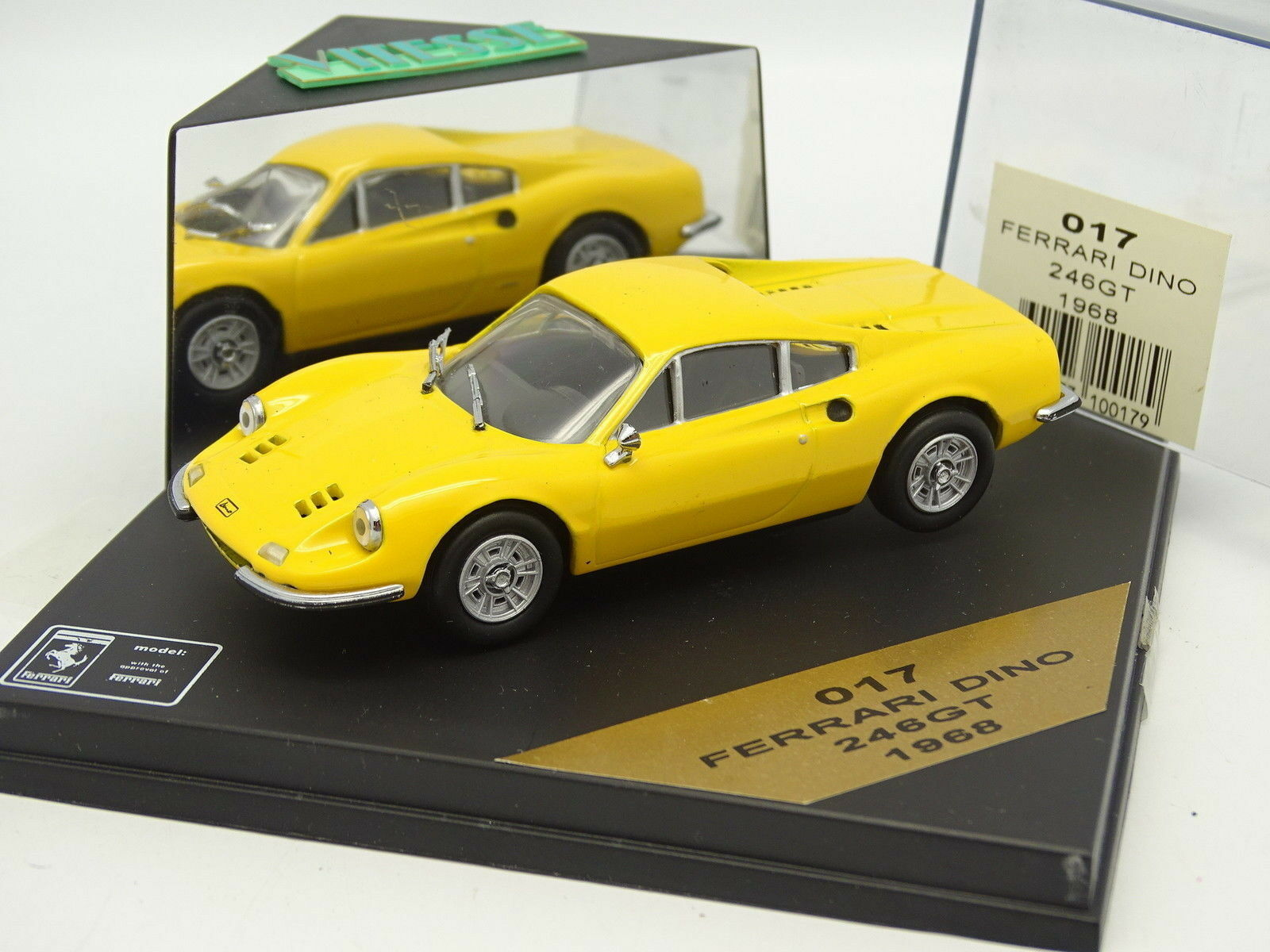 Vitesse 1 43 - Ferrari Ferrari Ferrari 246 GT Dino Gialla 1968 537dbb