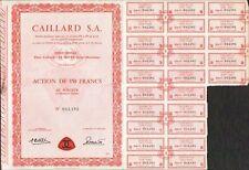 CAILLARD SA (LE HAVRE 76) (U)