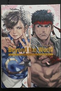 JAPAN-Capcom-Street-Fighter-Memorial-Archive-034-Beyond-the-World-034-Art-Guide-Book