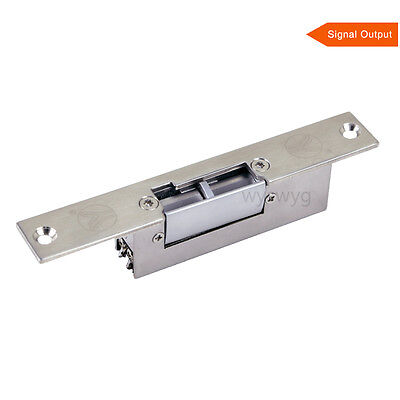Electric Strike Lock Metal Narrow Type Fail Secure Status Out For Access control