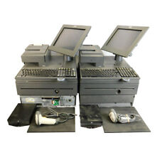 2 Ibm 4800 J22 Pos System Retail Cash Registers 700 Series With Scanner And Pads