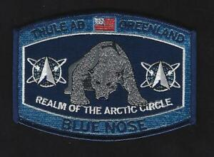 THULE-AB-GREENLAND-HAT-PATCH-AFB-US-AIR-FORCE-PIN-UP-USAF-BLUE-NOSE-ARTIC-REALM