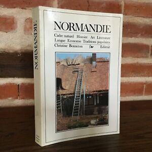 Christine Bonneton Normandia Cornice Naturale Dizionari Regionali 1986