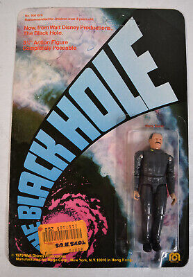 MEGO BLACK HOLE 1979 vintage moc action figure Harry Booth Troublesome reporter Walt Disney corporation rare toy from movie sealed unopened