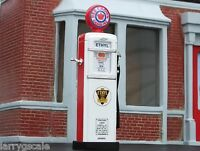 Red Crown Gasoline Pump Die Cast 1950's Style 1/24 Scale Diorama Accessory Item