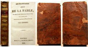 FABLES-DICTIONNAIRE-ABREGE-DE-LA-CHOMPRE-1831