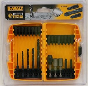 DeWALT-26-Piece-EXTREME-Impact-Drill-amp-Screwdriver-Bit-screw-driver-Set-DT70503B
