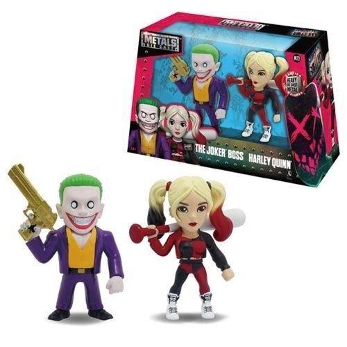 METALS Die Cast - The Joker Joker Joker Boss & Harley Quinn Set- Suicide Squad M23 DC COMICS 6ac908
