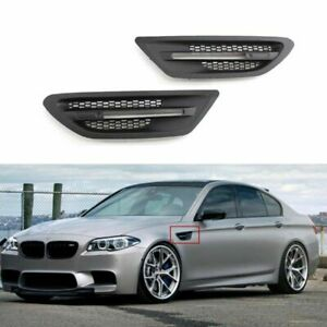 New Authentic BMW fender grill cover for F10 M5 51134805798 51134805797