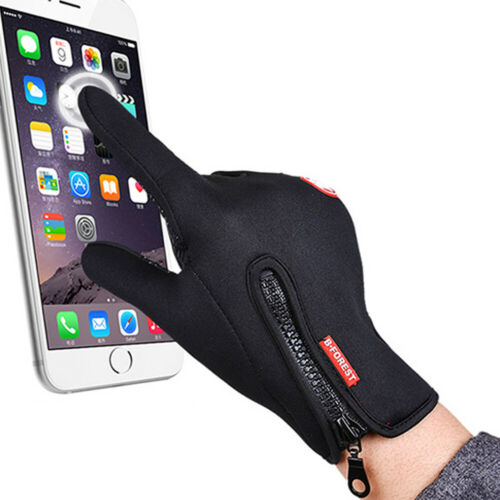 Winter Touch Screen Glove Windproof Thermal Warm Lining Sport Riding Men /& Women