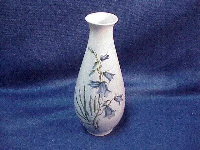 Royal Copenhagen Denmark Signed Vase With Blue Bells 2f 29184055 Ebay