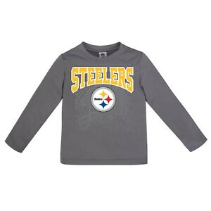 20494a781 Image is loading Pittsburgh-Steelers-Performance-Baby-Toddler-Shirt -Long-Sleeve-