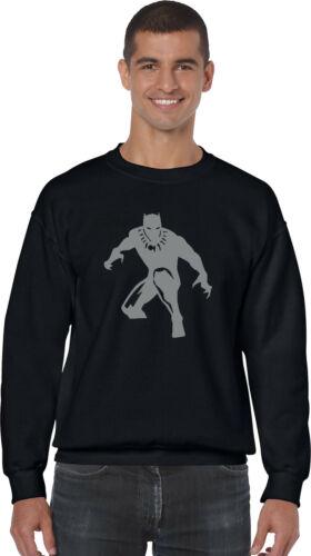 Black Panther Jumper,king of Wakanda Superhero Marvel Comics Adults /& Kids Top
