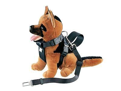 Auto Geschirr incl Sicherheitsgurt für Hunde S M L XL Hundegeschirr Nylon
