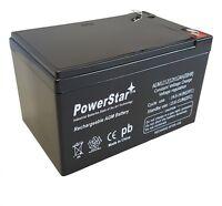 12 Volt 12 Ah Sealed Lead Acid Rechargeable Battery