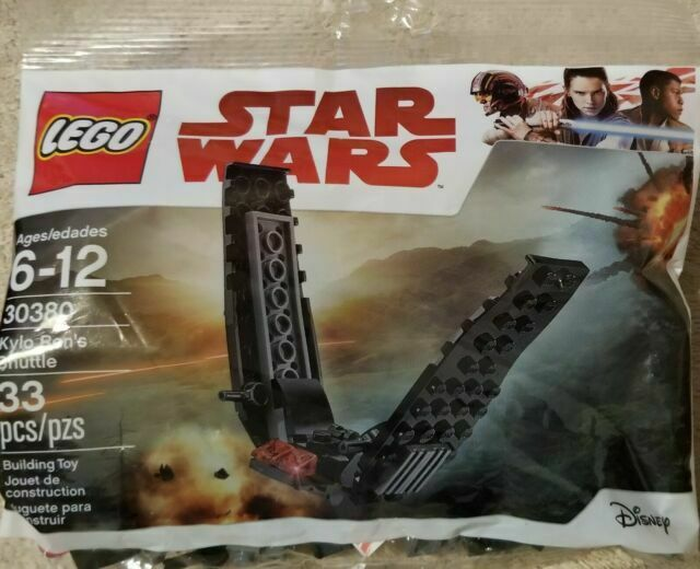 30380 Kylo Ren/'s Shuttle /& 30498 Imperial AT-Hauler 2 New LEGO Star Wars Sets