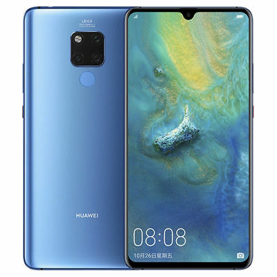 "Huawei Mate 20 X AMOLED Blue/ Silver 6/128GB 40MP 7.2"" DualSim Phone CN FREESHIP"