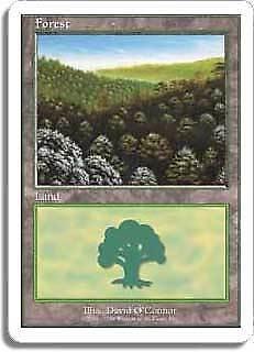 Battle Royale PLD-SP Basic Land MAGIC THE GATHERING MTG CARD ABUGames H Forest