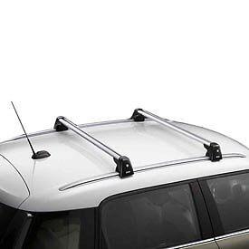new mini countryman roof rack base rail support system oem 82712148014 ebay. Black Bedroom Furniture Sets. Home Design Ideas