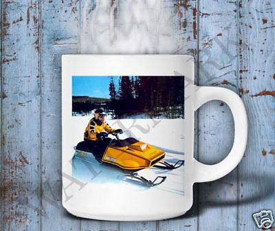 VINTAGE SKI-DOO BLIZZARD SNOWMOBILE BROCHURE MUG