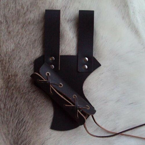Re-enactment And LARP # Styled Leather Adjustable Sword Frog Ideal For Costume
