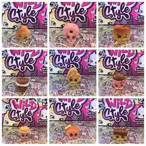 New Shopkins Season 9 9-079 to 9-087 Sweet 'n' Squishy Tribe authentic com ship