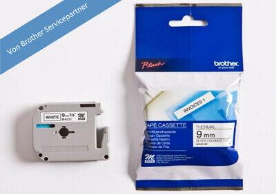 Bandbreite brother M-Tape M-K221 Schriftbandkassette 9 mm