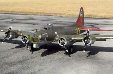 B-17 Flying Fortress  78 in  Giant Scale RC AIrplane Printed Plans