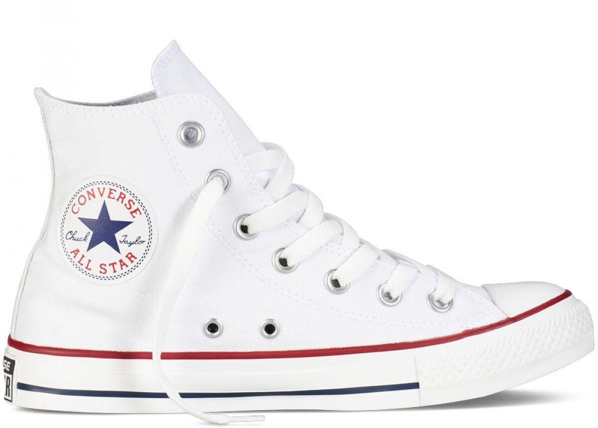 Men's Converse Chuck Taylor All Star High  Optical White  Fashion Casual M7650