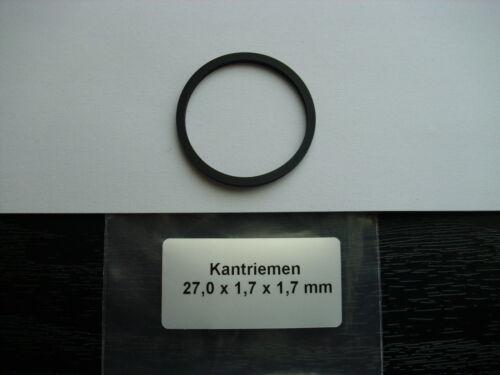 Kantriemen  27,0 x 1,7 x 1,7 mm NEU Vierkantriemen