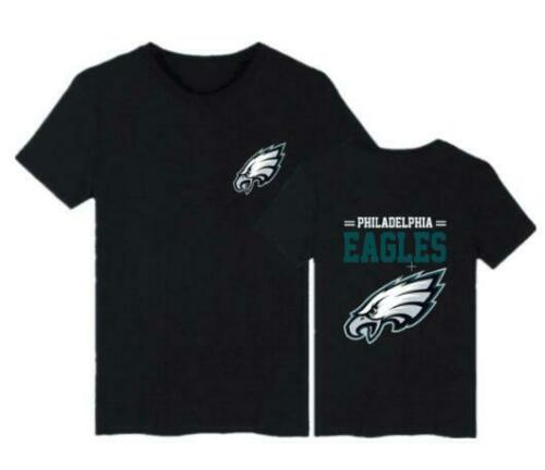 Philadelphia Eagles Fans loose sport leisure Round Neck  Short Sleeve T-shirt