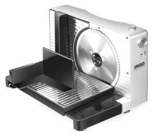 Unold-78856-Allesschneider-Kompakt-Silber-Brotschneidemaschine-Schneidemaschine