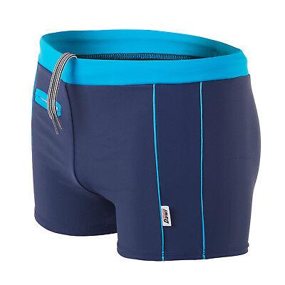 Swimwear Competent Swimwear Boxers L Badehose Schwimmhose Chlorresistent Marine /blau Made In Eu 10