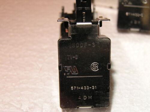 Netzschalter ALPS SDDF-3 TV8 2x 1 5x Schalter Sicherheits 32 KW mit Halbloch