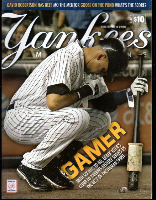 Yankees Magazine July 2011  v. 32-5 Sabathia Derek Jeter Rivera Posada Teixeira