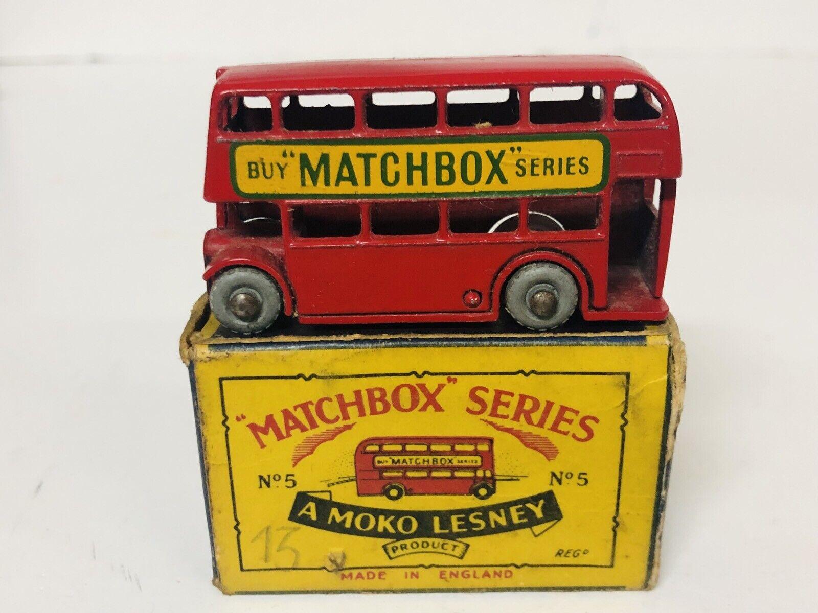 Moko Lesney Matchbox 5b London Bus Buy Matchbox Series Con Caja Original