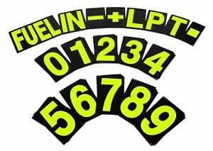 BG-Racing-Large-Pit-Board-Number-Set-Hi-Vis-Yellow