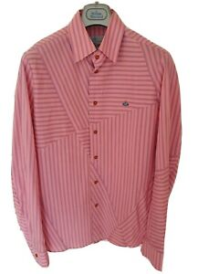 Mens-MAN-by-VIVIENNE-WESTWOOD-long-sleeve-shirt-size-III-medium-RRP-275