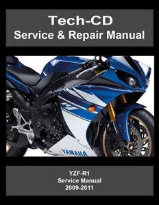 yamaha yzf r1 service repair manual yzfr1 2009 2010 2011 ebay rh ebay co uk yamaha yzf r1 service manual pdf yamaha yzf r1 service manual 2007