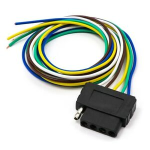 Surprising 36 3Ft Trailer Light Wiring Harness Extension 5 Pin Adapter Wire Wiring Digital Resources Cettecompassionincorg