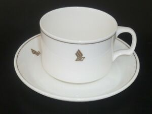 Image is loading Classic-Singapore-Airlines-Narumi-Bone-China-cup-&- & Classic Singapore Airlines Narumi Bone China cup \u0026 saucer / plate ...