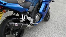 Suzuki SV650 2003- 2016 Carbon Tri-oval twin out ROAD LEGAL MTC Exhaust