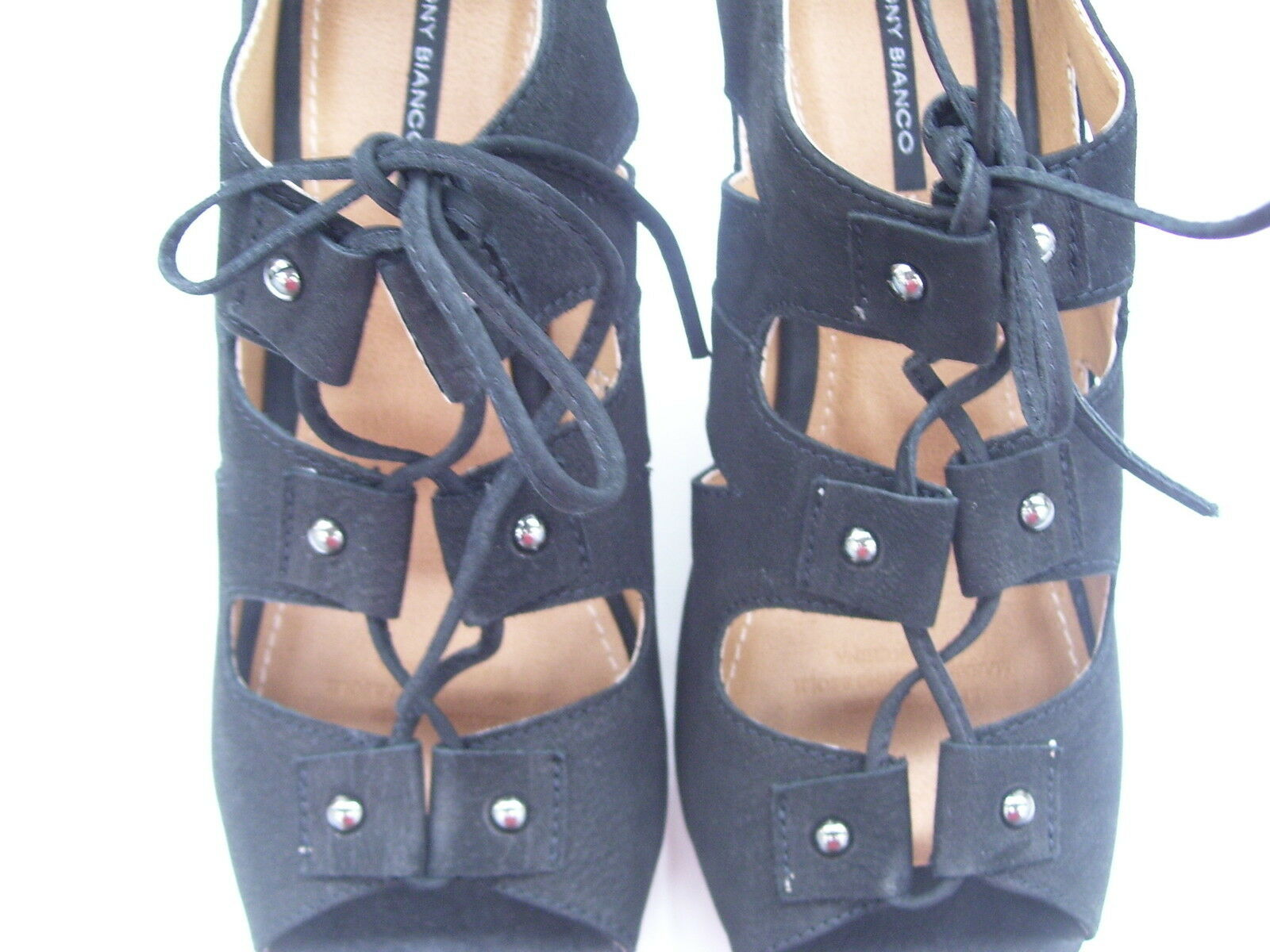 tony bianco finlay mesdames Noir  chicago mesdames finlay robe haut chaussures taille dix nouveaux coins 54598d