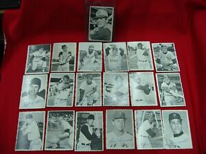 1969-TOPPS-DECKLE-EDGE-19-DIFFERENT-CARDS-INCLUDING-PETE-ROSE-L-K