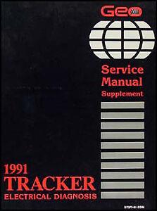 1991 Geo Tracker Electrical Diangosis Manual    Wiring