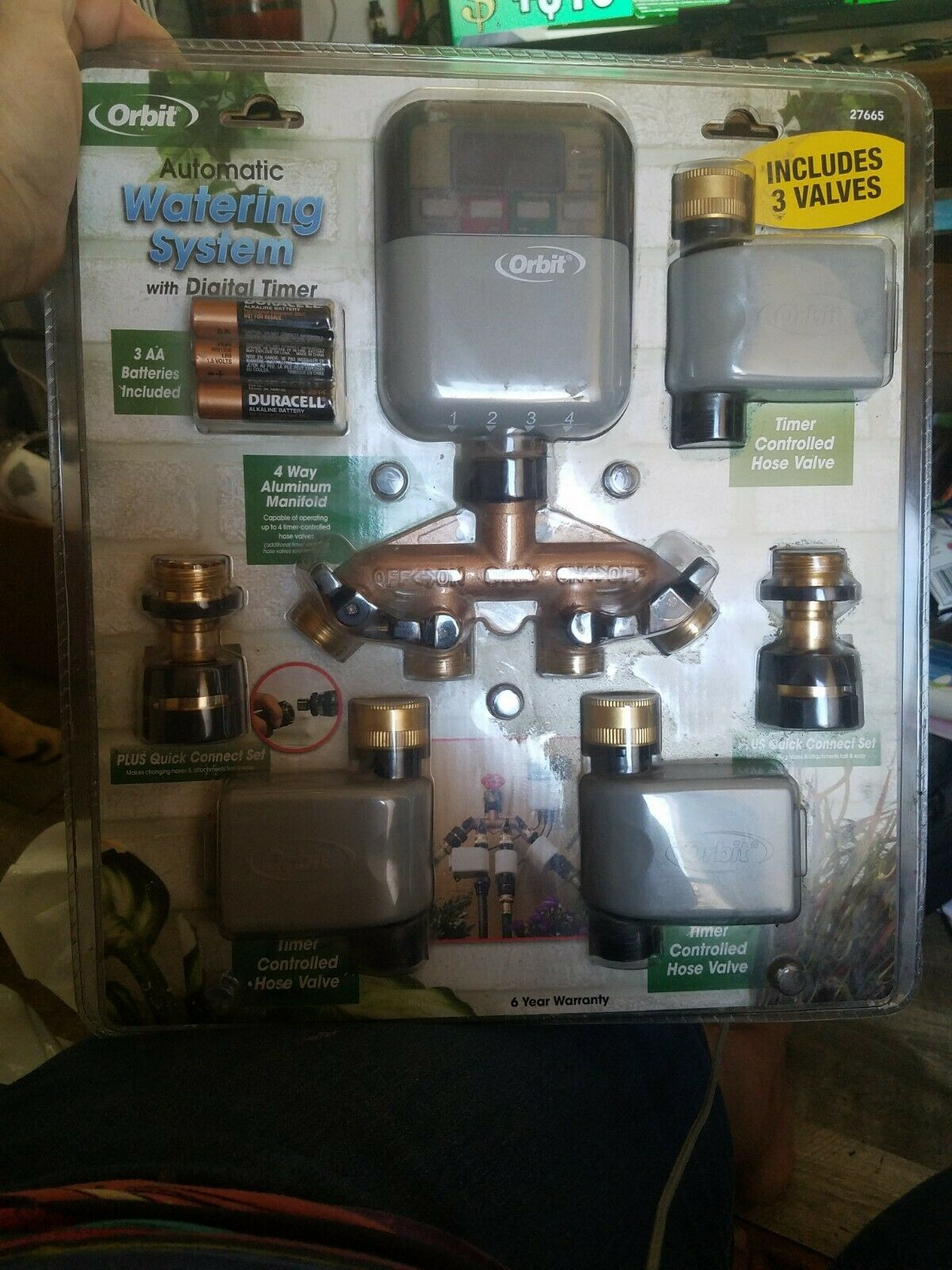 NOS Orbit Automatic Watering System with Digital Timer Sealed