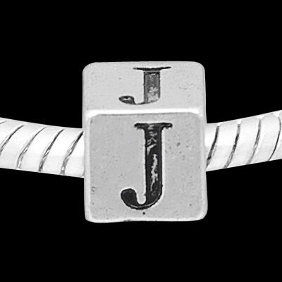 "GESCHENK ORIGINAL MASSIV 925 STERLING SILBER BEAD CHARM ALPHABET /""U/"""