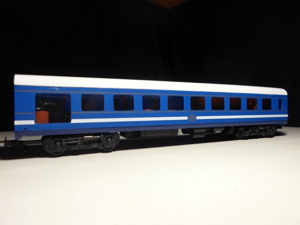 South African bluee Train Observation Wagon