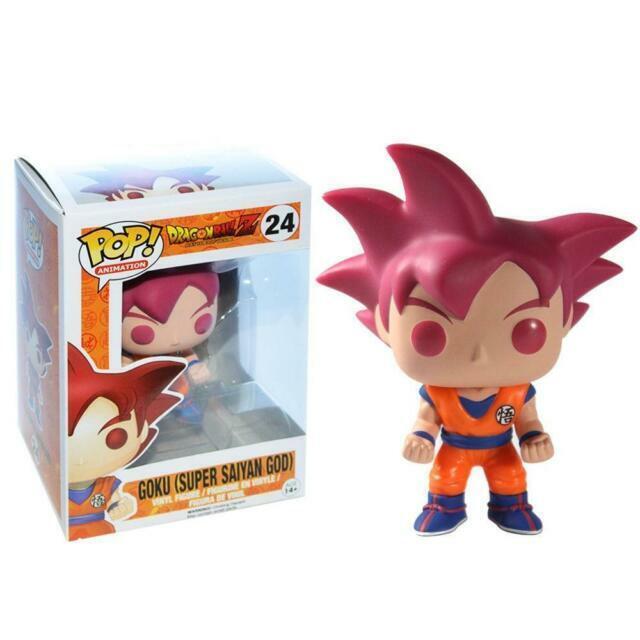 !!!!!!!!!!!!!Funko Pop Dragon Ball Z Goku (Super Saiyan God)#24 !!!!